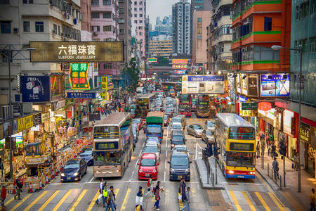 <香港-澳门4晚5日游>游览港珠澳大桥、夜游维多利亚港、香港1天自由活动、可升级海洋公园或迪士尼乐园