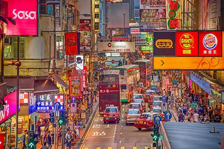 <香港-澳门五日游>含往返高铁、接机服务、玩转港澳地标景点、香港1天自由活动、船游维多利亚港