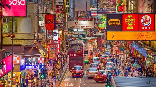 香港-澳门欢畅畅享双园纯玩5日游