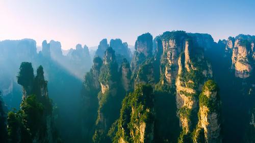 Landscape of Zhangjiajie National Forest Park