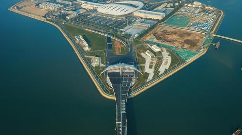 港珠澳大桥和人工岛