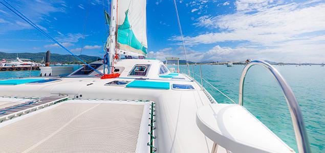 <【格兰岛出海双体帆船一日游】星空号>网红船 香蕉船、水上摩托、体验深潜,玩尽兴