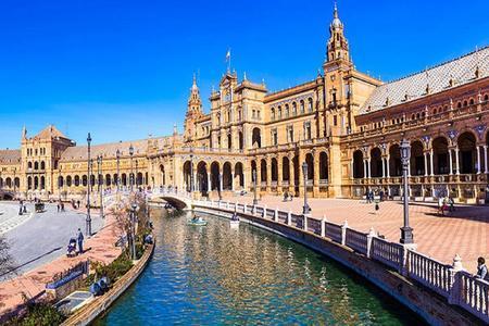<西班牙葡萄牙7日当地游>里斯本出发、塞维利亚散团,哥伦布纪念碑,西班牙皇宫,神圣家族教堂,阿尔罕布拉宫