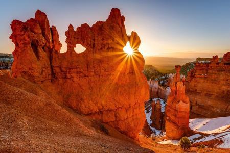 <美国黄石国家公园+羚羊峡谷+马蹄湾+布莱斯峡谷国家公园+大提顿国家公园+大盐湖+盐湖城10日游>入住西峡谷木屋深度黄石体验感受大自然魅力