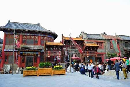 <淄博+潭溪山+周村+琉璃文化园2日游>青岛周边游无购物 逛庙会