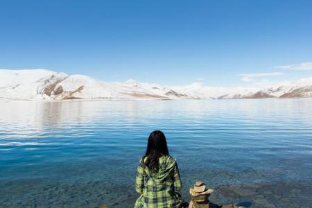 <西藏林芝-大峡谷-拉萨-羊湖-纳木措8日游>(圣湖牧歌)4晚瑞吉,林芝进藏不走回头路,湖畔西餐、骑马、温泉、圣湖游船,24H接送