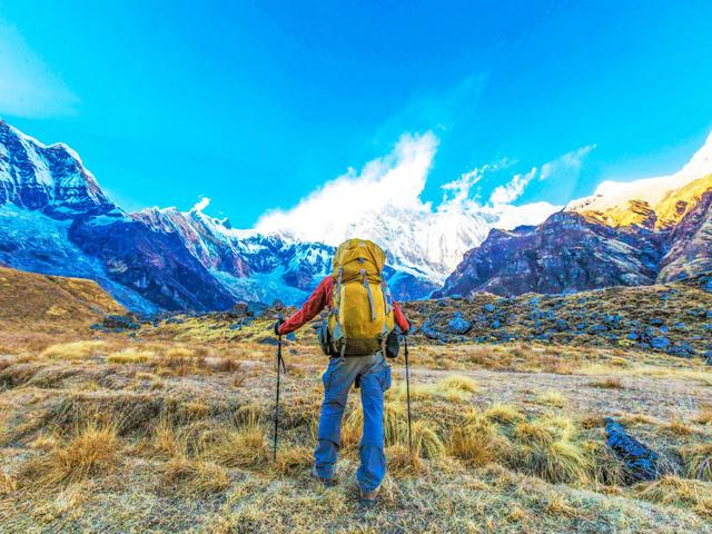 <尼泊爾ABC+布恩山徒步喜馬拉雅13日游>十大徒步線路,專業徒步團隊,雪山徒步觀看3座高峰,直升機救援,2人成行,當地參團