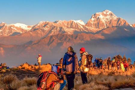 <尼泊尔ABC+布恩山徒步喜马拉雅13日游>十大徒步线路,专业徒步团队,雪山徒步观看3座高峰,直升机救援,2人成行,当地参团