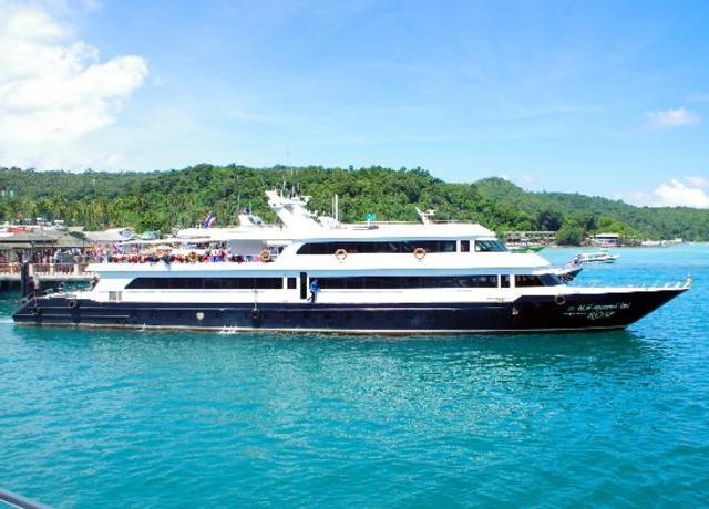 <普吉岛往返皮皮岛通赛湾游轮船票 PP CRUISER船公司>