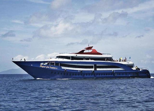 <普吉岛往返皮皮岛北部Leam Tong游轮船票ANDAMAN WAVE船公司>