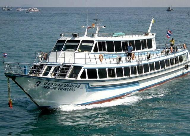 <甲米—普吉岛往返船票大船(Aonang travel船公司含甲米和普吉岛酒店接送)>