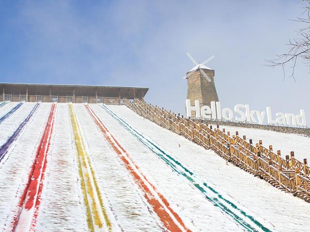 <安吉云上草原风景区-大门票(含索道) 星空滑雪场畅滑票> 观光票+滑雪票(含索道)【浙里雪山,滑雪天堂】