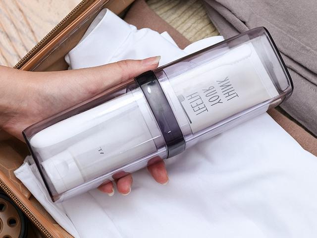 日式简约旅行牙刷盒便携式小巧情侣款套装牙膏牙刷套收纳盒漱口杯