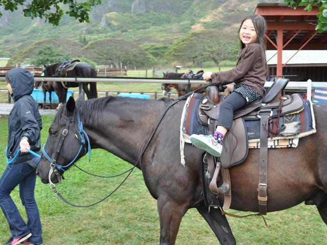 <美国夏威夷古兰尼牧场一日游性价超高>(含午餐/院内可骑马/越野车/丛林探险一次性玩过瘾 )