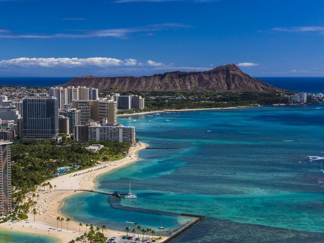 <夏威夷欧胡岛4晚5日游>【每团至多16人】近距离接触珍珠港,深入波利尼西亚文化中心,享受市区观光乐趣,夏威夷首推四种房型选择(当地参团)