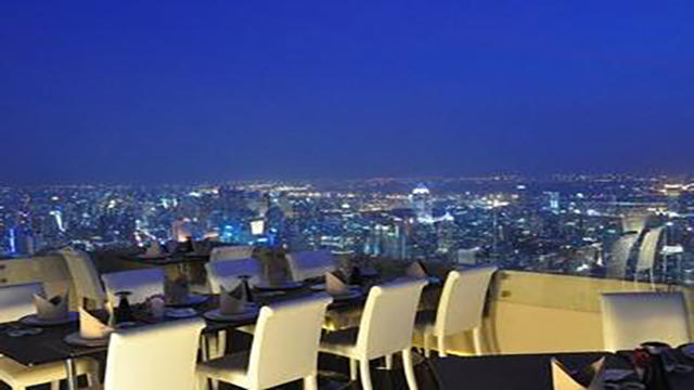 <曼谷拜约克旋转餐厅套餐>曼谷拜约克旋转餐厅  享受美食美景 踏遍曼谷 体验奥妙