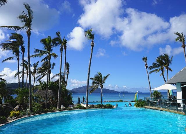 <汉密尔顿岛白天堂沙滩一日游>酒吧式午餐+艾尔利滩/白日梦岛出发