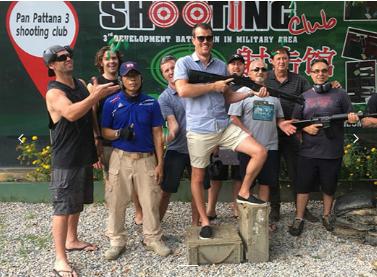 <【清迈 Shooting Club射击俱乐部】>这里是射击爱好者的乐园能获得新奇的体验与乐趣