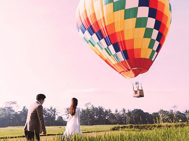 <巴厘島 烏布熱氣球 田園風光 浪漫告白>【網紅打卡新寵+酒店接送】浪漫必備,浪漫回憶此生難忘