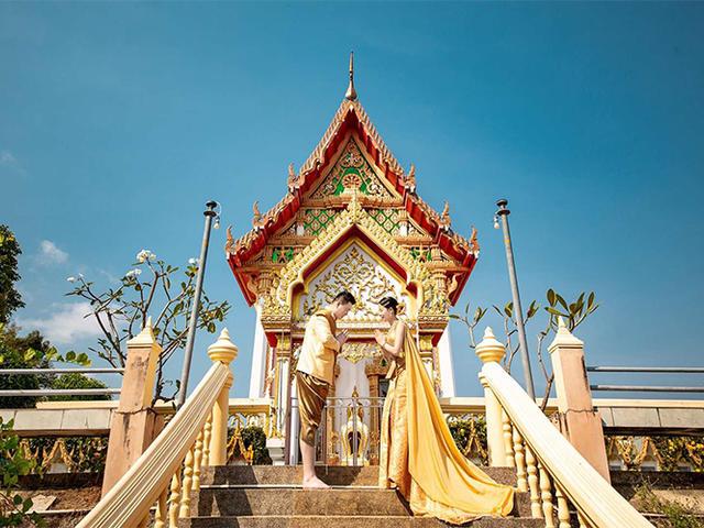 <三亚泰国普吉岛婚纱摄影旅拍服务5888套餐【定金1000】>一次说走就走的旅行 你只管诗和远方  琐事交给我们